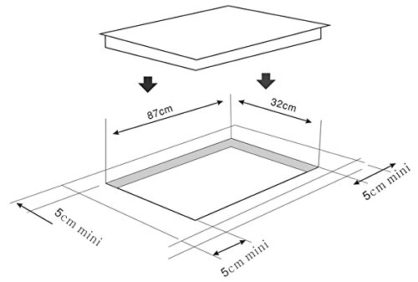 Glaskeramikkochfeld-NCH-7205x- Einbau