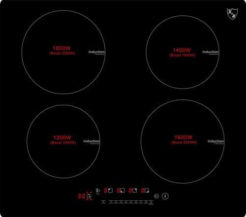 4 Zonen Induktionskochfeld IN-6804 Bild 1