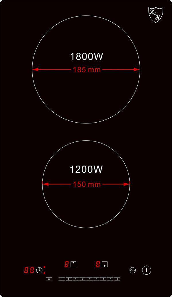 Glaskeramikkochfeld-VC-3002- Watt
