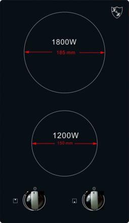 Glaskeramikkochfeld KVC-3002N