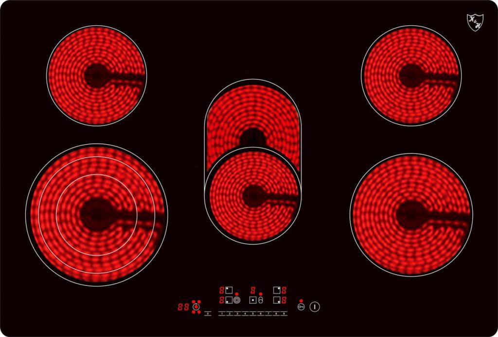 -GlaskeramikkochfeldNC-8608 Glühendeplatten