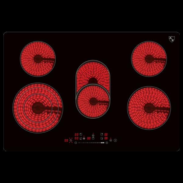 5-Zonen-SLIDER-Control-Glaskeramikkochfeld-77cm-Elektro-Autark-rahmenlos
